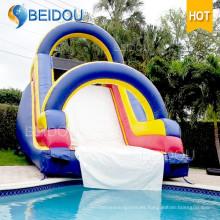 Diapositiva de agua inflable gigante barata de encargo para el adulto para la venta