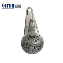 Permutador de calor de aço inoxidável sanitário para a indústria alimentar