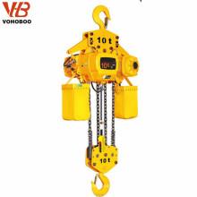 Palan électrique à chaîne de 10 tonnes
