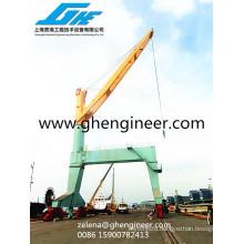 Rail Mobile Gantry Crane Port Crane
