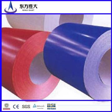 Bobine en acier recouvert de couleur PPGI à faible prix de qualité fabriquée en Chine