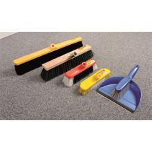 Broom Head Short Hard Blistle W/Scraper Cleaning Tool