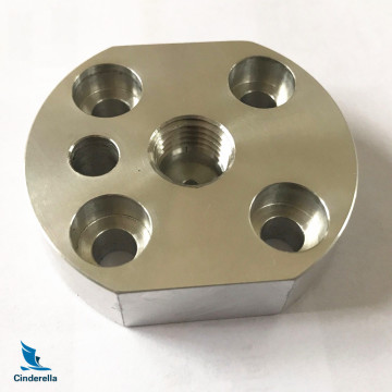 ISO Vacuum Fittings Blank Flanges Fixed Bolted Manufacturing