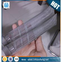 """China lieferant 6 """"300 micron lebensmittelqualität edelstahl bazooka rohr bildschirm / homebrew filter"""