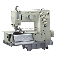 Double needle flat-bed making belt loop with front cutter(the width of belt loop)