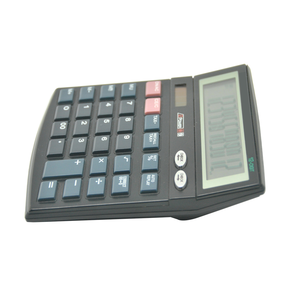 Dual Power Classic 12 Calculadora de Escritorio Digital Oficina
