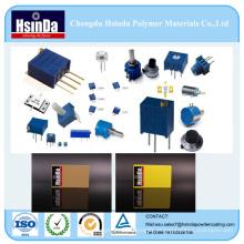 Revestimento funcional do pó da dissertação excelente do calor da qualidade para a placa eletrônica