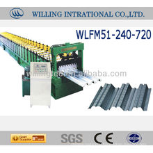 Automatic hot sale and good quality 688 floor decking roll forming machine