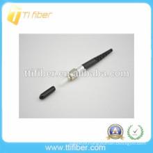 SMA905 ceramic ferrule singlemode simplex fiber optic connector