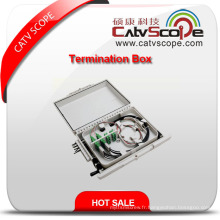 Boîte à bornes optique de fibre de W-16 / cadre de distribution optique de fibre / ODF