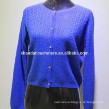 Suéter de lana de cachemir de lana de invierno de diseño de nueva moda 2016
