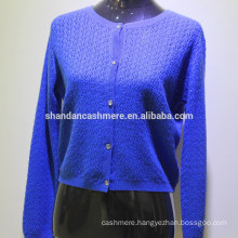 2016 New fashion design winter knitted wool cashmere woman sweater