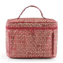 Lady Classic Letters Design Fashion Polyester Cosmetic Wash Bag (YKY7511)