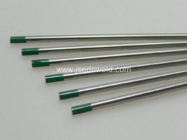 175mm WP Green Tungsten Electrode