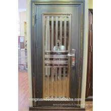 Porte de sécurité en acier inoxydable, porte en acier, porte extérieure