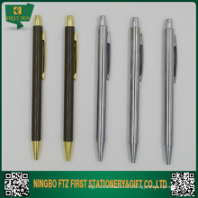 Slim Shiny Plating Clip Pen Promotionnel