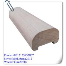 wood handrail railing