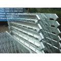Escalier en acier galvanisé, escalier en acier galvanisé, bande de roulement en acier industriel