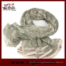 Tactical Mesh Net Camo Multi Purpose Military Scarf for Wargame