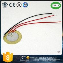 Горячая распродажа 35 мм Пьезоэлектрический керамический зуммер три провода