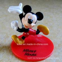 Hochwertige kleine PVC-Geschenk ICTI Certificated Plastic Mouse Kids Spielzeug