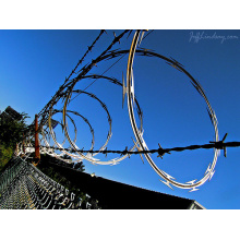 Razor Barbed Iron Wire/Concertina Iron Wire