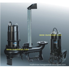 Submersible Sewage Pump with Guide Rail