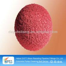 Bola da esponja de Putzmeister de DN125 (5 polegadas) para a limpeza da tubulação