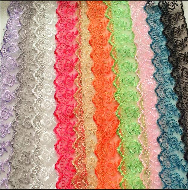 ruffle elastic lace for wedding garter