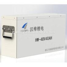 Bateria 48V 40Ah lifepo4 para empilhadeira elétrica