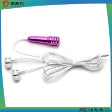Мобильный телефон портативный мини караоке КТВ микрофон с проводной наушник