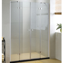 Gehärtete Glasflügel Duschtür für Badezimmer