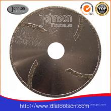 Hoja de sierra de diamante galvanizada Od125mm para corte en la pared