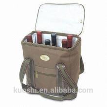 saco de refrigerador de vinho de piquenique de alimentos inteiros baratos