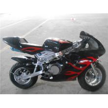 49cc aire enfriado tirón de metal Mini bicicleta de bolsillo de inicio (jy-pb001)