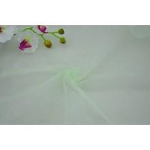 Tissu de maille de mosquito de jacquard de diamant de polyester de 100%