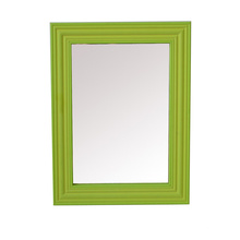 Cadres de miroir cosmétique colorés en plastique pour cadeau