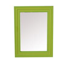 Plástico colorido cosméticos espelho frames para o presente