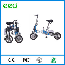 Folding Bike MINI Bicycle 12 Inch Wheel Aluminium Alloy Frame bike white