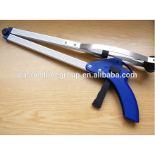 Handle grabber rubbish trash picker, claw grabber reaching tool, kitchen litter extend reacher tool