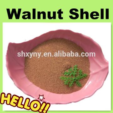 36 mesh crushed walnut shell grain for degreasing