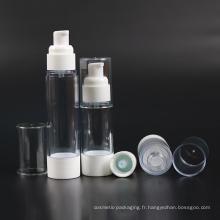Bouteille de dosage en plastique de couleur naturelle (NAB31)