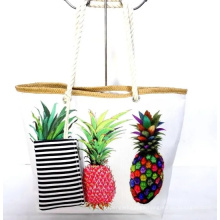 Summer Tote Bag Beach Bags with Pineapple Print
