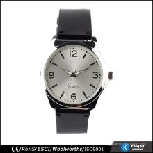 Relojes de cuarzo casuales mens, relojes de cuero hombres alibaba China nueva llegada