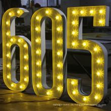 3D Metall Dekoration Buchstaben für die Werbung