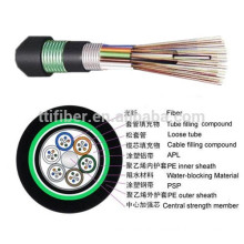 24 core single mode GYTA53 Armoured Outdoor Optical Fiber Cable