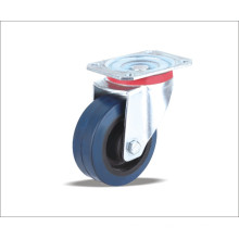 High Quality Factory Price Rubber Caster Wheel with Plastic Rim