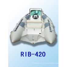 RIB420 катер с CE надувные лодки с жестким полом