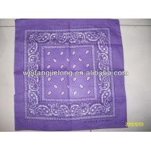 Mantel impreso de tela barata de algodón 100%