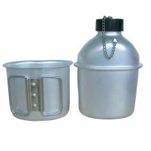 Botella de agua militar de 0.8L Al